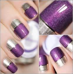 two color nails two tone nail ideas that you ll to try