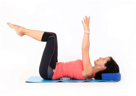 3 tabletop position without abdominal doming physiopilates