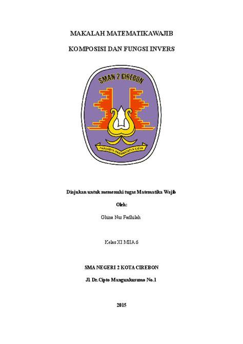 makalah matematikawajib ghina nurf academiaedu