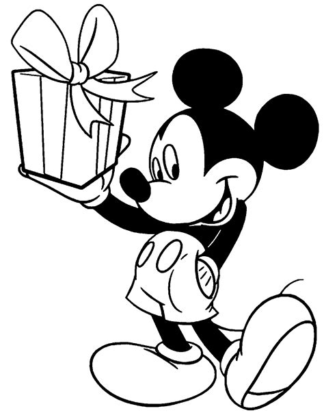 mickey coloring pages birthday mickey mouse birthday coloring pages go digital with us