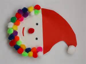 santa claus kid crafts