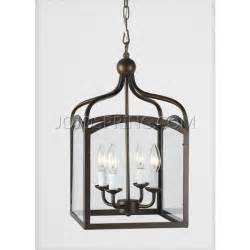 foyer lantern chandelier antique copper 4 light foyer hanging lantern