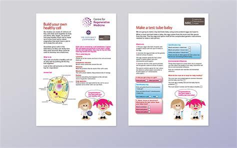 leaflet design edinburgh leaflet design edinburgh science festival on behance