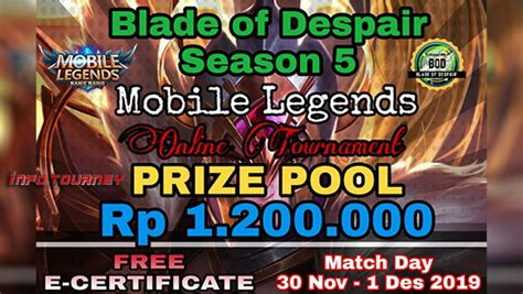 turnamen mobile legends blade  despair season