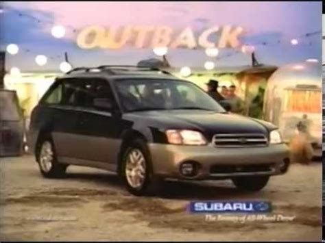 Subaru Outback Commercial Subaru Outback Commercial 1999 With Paul