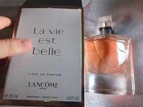 comprobar  tu perfume la vie est belle  es