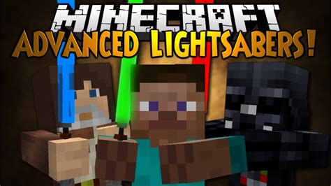 minecraft mod showcase advanced lightsabers