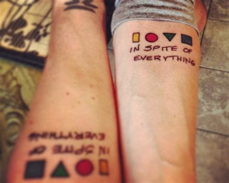 awesome brothers tattoo idea