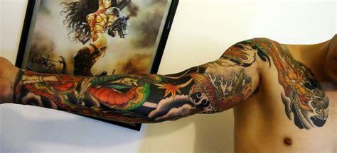 tattoo japanese style arm alan barbosa japanese tattoo arm by alanbarbosatattoo on
