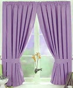 Lilac Blackout Curtains Virgo Thermal Blackout Pencil Pleat Readymade Lined Curtains Lilac 46 Quot X 90 Quot Co Uk