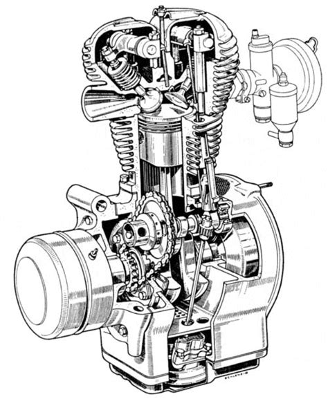 cool and exploded engine coloring book combustion engines to color books four stroke engine