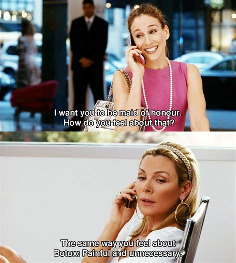 Sex And The City Meme - botox maid of honor quot sex the city quot carrie