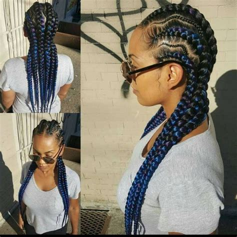 extra long cornrow hairstyles long hairstyles for black women long afro hair