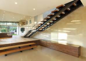Window Treatments For Mid Century Modern House - mill valley ca modern addition to mid century modern home modern staircase san francisco