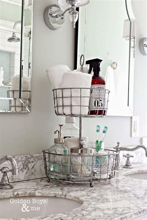 bathroom countertop storage ideas 15 organizational ideas for the bathroom