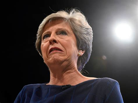 theresa may�s disastrous speech to uk conservatives