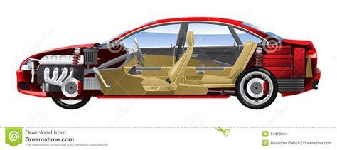 Design House Business Model cut away car stock images image 14413604