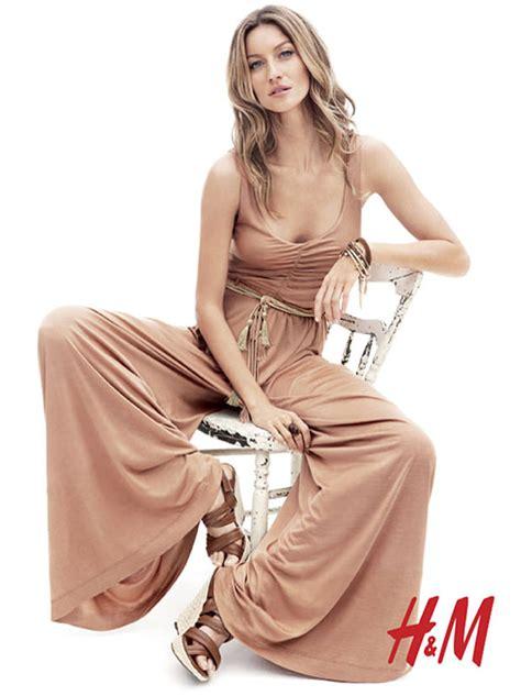 H M Calendario Testimonial La Top Model Gisele Bundchen 232 Il Volto Di H