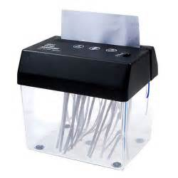 portable electric paper shredder home office desktop small