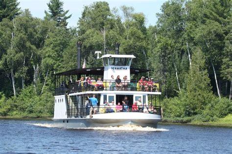 hiawatha river boat tahquamenon falls river boat tours the famous