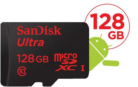 Sandisk Mobile Ultra Micro Sdhc And Micro Sdxc Uhs I Cards For Android High Speed Class 10 Up To 30mbsec 32gb sandisk sdsdqua 128g u46a mobile ultra microsdxc uhs i