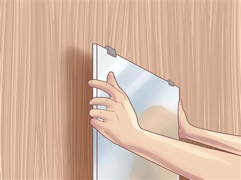 where to hang mirrors how to hang a mirror 12 steps with pictures wikihow