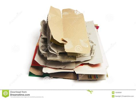 How To Make Waste Paper Products - waste paper products stock image image of still recycle