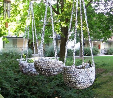 Hanging Bag Planters by 20 Plastic Bag Diy Projects To Recycle And Reuse Them