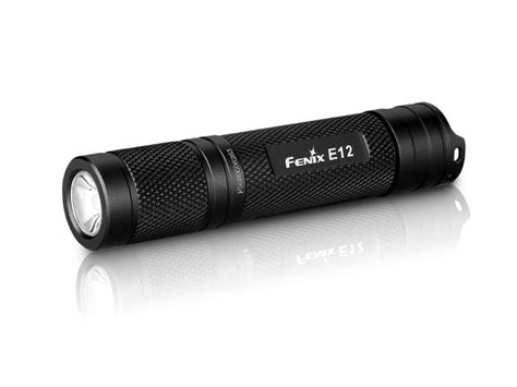 led flashlight aa battery fenix e12 flashlight led 1 aa battery aluminum black