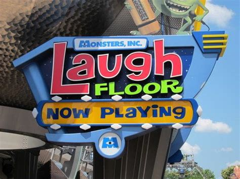Disney World Laugh Floor - how to get your joke told at the monsters inc laugh