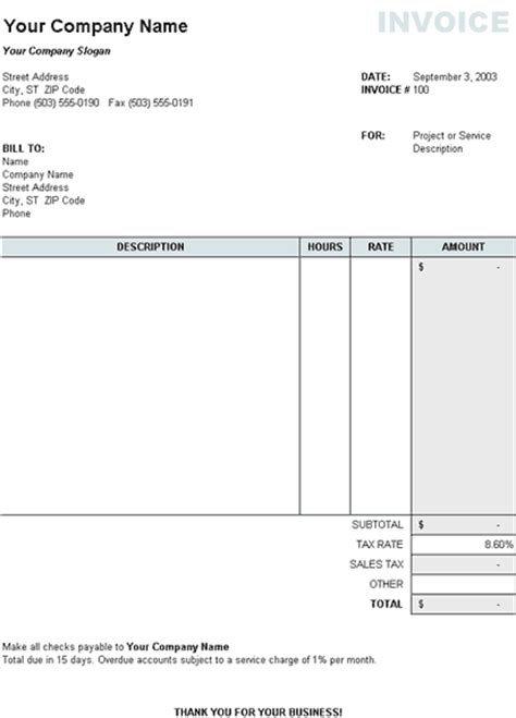 tax invoice template nz tax invoice template nz invoice sle template