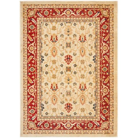 4 x 5 area rug safavieh creme 4 ft x 5 ft 7 in area rug aus1620 1140 4 the home depot