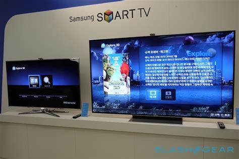 2 samsung tvs in same room samsung d9500 75 inch smart tv on slashgear