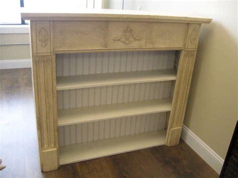 primitive antique repurposed fireplace mantel shelf