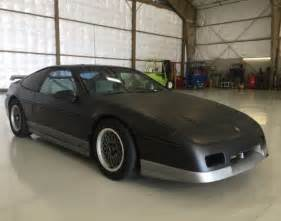 Pontiac Fiero Top Speed 1987 Pontiac Fiero Gt 2 8 V6 5 Speed No Reserve For Sale