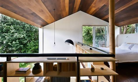 Home Design Blogs New Zealand Small But Bold Home Overlooks Treetop Views In