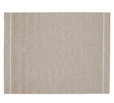 colton indoor outdoor rug cool pottery barn