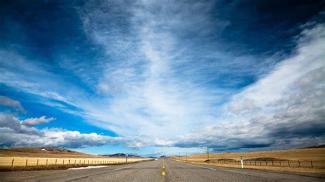 wallpaper road  hd wallpaper clouds day sky dream
