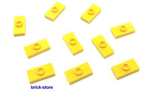 brick store de lego 174 10 st 252 ck 1x2 gelbe fliesen