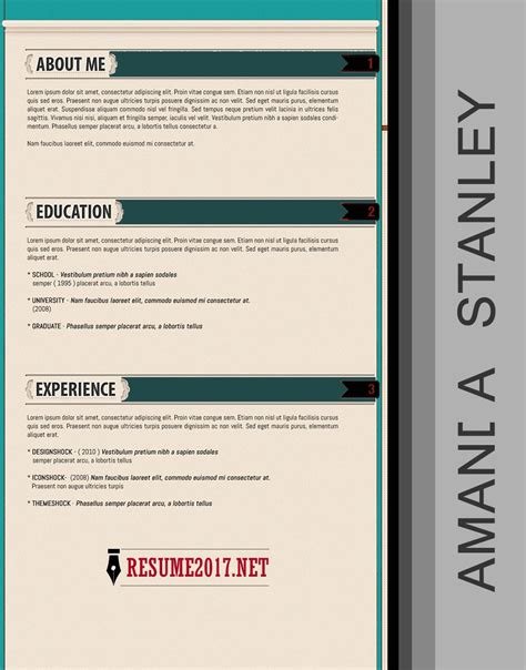 eye catching resume templates 20 resume templates 2017 to win inside 85 stunning eye