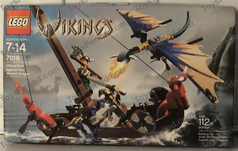 lego viking boat instructions lego 7016 viking boat versus wyvern dragon set parts