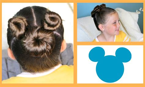how to do disney hairstyles not so hidden mickey hairstyle tutorial a