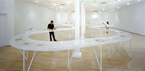 exhibition table layout kiesler exhibition new york drawing center gallery e