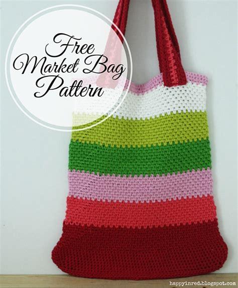 crochet pattern for knitting bag 23 market bag patterns to crochet knit or sew wee folk art