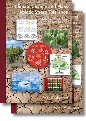 Wiley Climate Change And Plant Abiotic Stress Tolerance