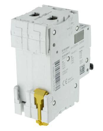 Mcb Acti 9 Ic60n 1 Kutub 25 A 6 Ka schneider electric a9f53202 2a pole b type ic60h mcb c60hb202 kelvelec electrical