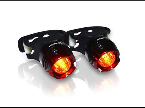 brightest bicycle tail light stupid bright sbr 1 led bike tail light gear review youtube