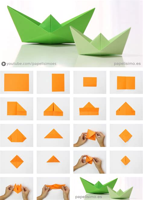 Origami Perahu Boat - cara membuat perahu dari kertas gt do it yourself club