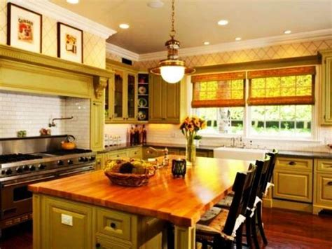 Kitchen Islands Designs by 20 Modern Kitchens Decorated In Yellow And Green Colors