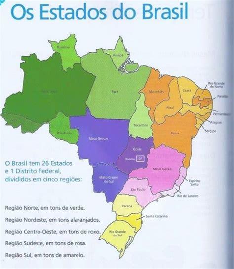 imagenes satelitales brasil mapa do brasil e capitais trabalho de escola do